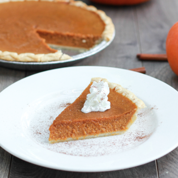 Sweet Maca Pumpkin Pie With Ground  Salba Chia By Chad Montano