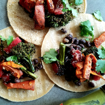 Sweet Potato & Broccolini Tacos