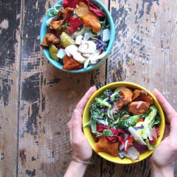 Kale Veggie Bowls